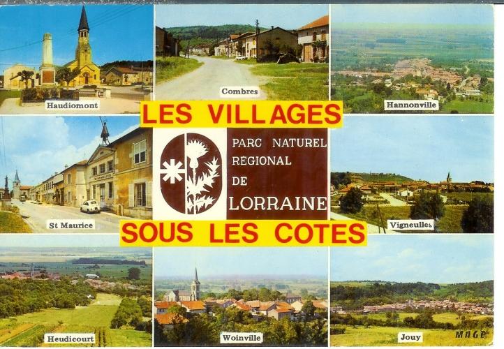 cpsm 55 Verdun , ww1 , les villages sous les combles , vierge