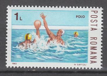 TIMBRE NEUF DE ROUMANIE - WATER-POLO N° Y&T 3457