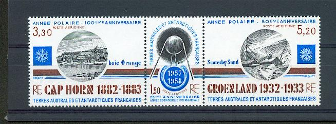 TAAF PA  77A 1982 ANNIVERSAIRES neuf ** TB MNH SIN CHARNELA cote 5.4