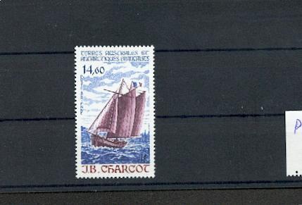 TAAF PA  97 1987 bateau voilier NEUF ** TB MNH sin charnela prix de la poste 2.23