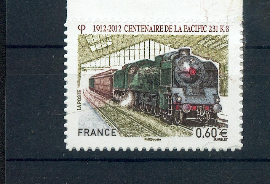 France  711 locomotive pacific autoadhésif  d'entreprise neuf luxe ** MNH sin charnela