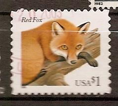 USA - Animaux - Renard roux - YT 2768
