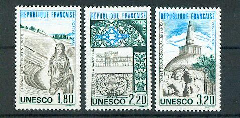 France service  88 90  1985 UNESCO neuf ** TB mnh sin charnela faciale 1.1