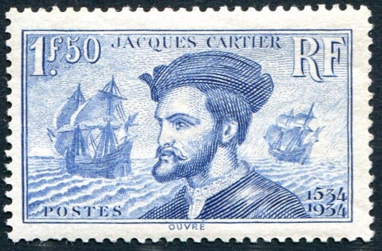 France - 297 ** - Jacques Cartier