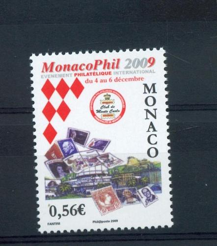 MONACO 2670 Monaco phil 2009 neufs ** luxe prix de la poste 0.56