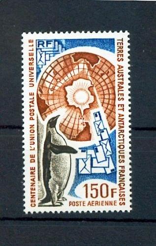 TAAF PA  37 1974 UPU NEUF avec trace de charnière * TB MH CON CHARNELA cote ** 10