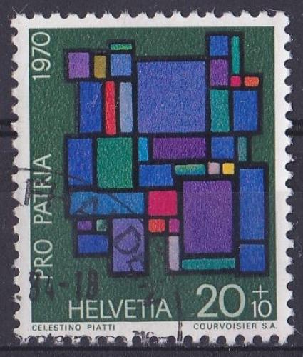 SUISSE 1970 OBLITERE N° 858