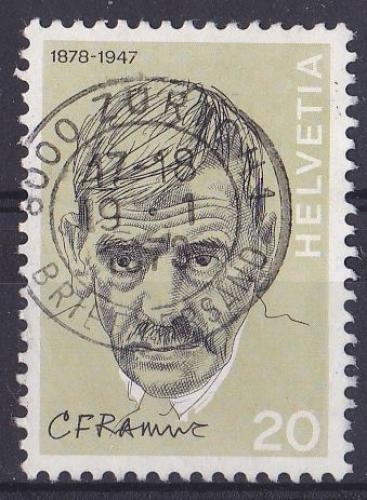 SUISSE 1972 OBLITERE N° 910