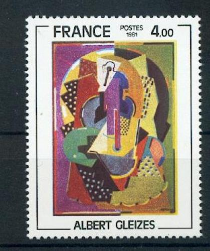 France 2137 TABLEAU GLEIZES 1981 neufs ** TB MNH faciale 0.6