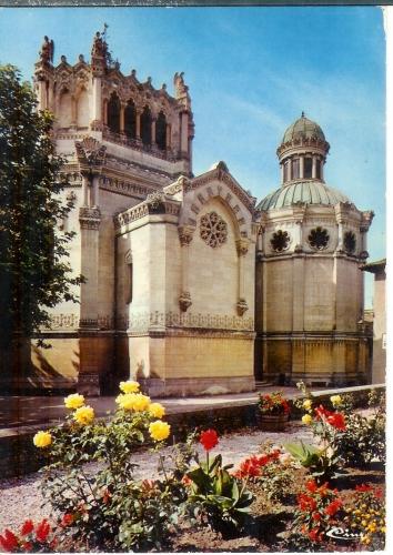 cpsm 01 Ars , la Basilique