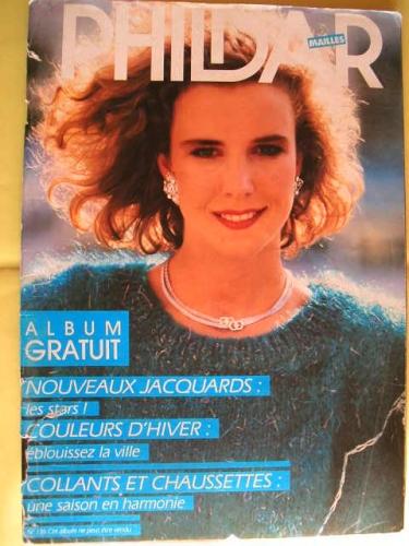Tricot : PHILDAR Mailles N°136 de 1986
