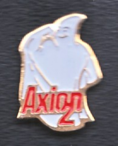 PIN'S LESSIVE AXION 2 : FANTOME FORT