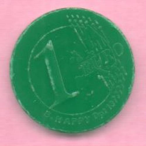 Caddie : Magasin AUCHAN 3 plastique vert