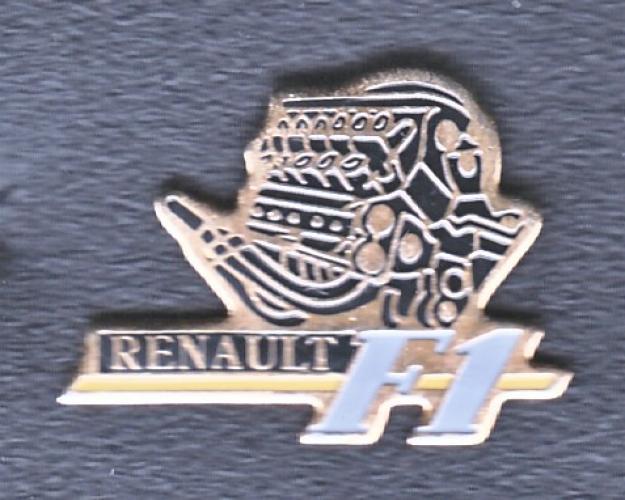 PIN'S RENAULT F1
