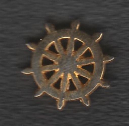 PIN'S S.N.S.M. (ROUE DE BATEAU)