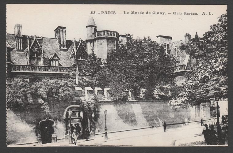 CPA PARIS - LE MUSEE DE CLUNY