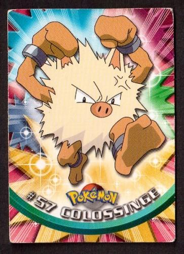 Carte Pokemon 57 Colosssinge type Combat TOPPS 1995-96-98 Editeur Nintendo