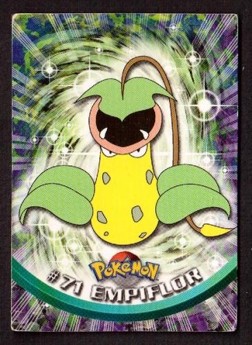 Carte Pokemon 71 Empiflor type Plante TOPPS 1995-96-98 Editeur Nintendo