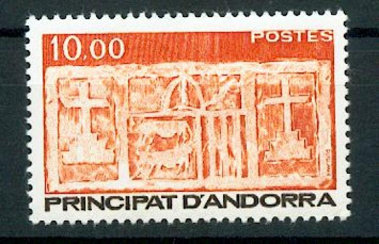 Andorre 337 1985  Ecu primitif série courante neuf ** TB MNH