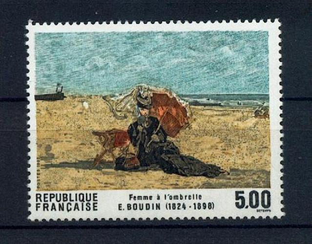 FRANCE 2474 TABLEAU DE BOUDIN   neuf ** Tb MNH sin charnela cote 3