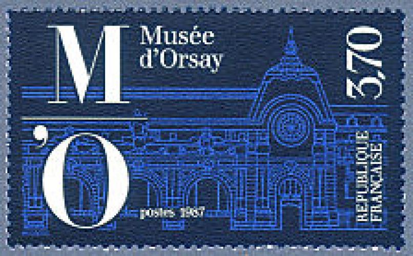 France 2451 musée d'orsay neufs **TB MNH prix de la poste 0.57
