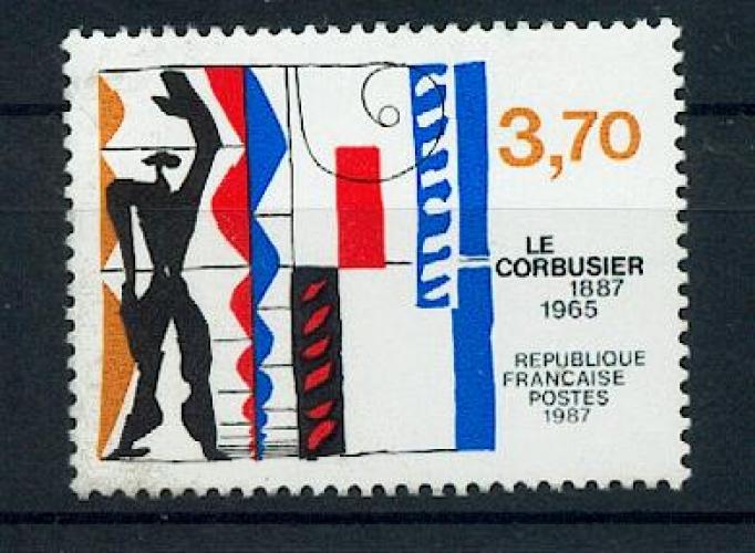 France 2470 le Corbusier neufs **TB MNH prix de la poste 0.56