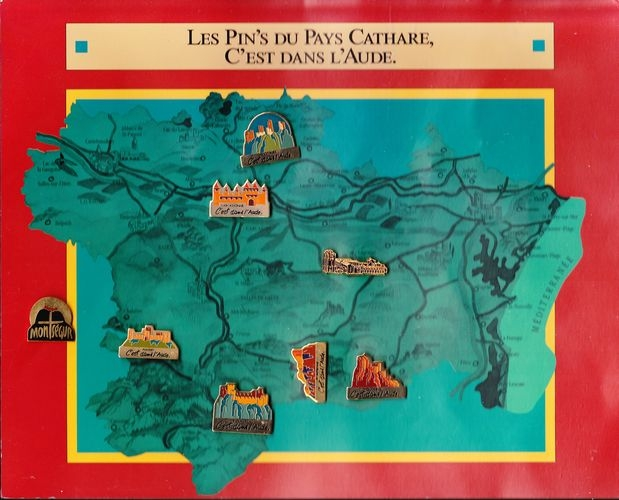 Pin´s du Pays Cathare