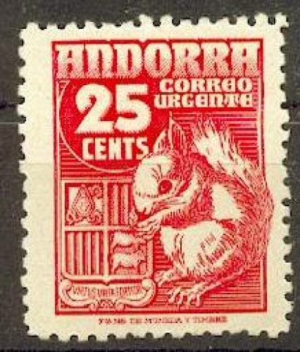 Andorre Espagnol   52 timbre express neuf ** TB MNH sin charnela cote 8