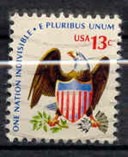 USA 1975 YT 1073 Obl Aigle et armoirie