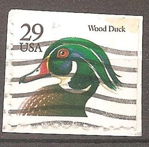 USA 1991 YT 2936 Obl Oiseau Canard des Bois