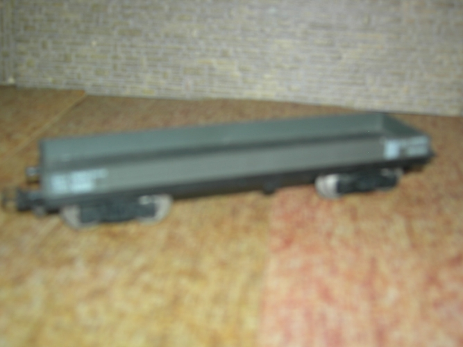 JOUEF Wagon plat gris