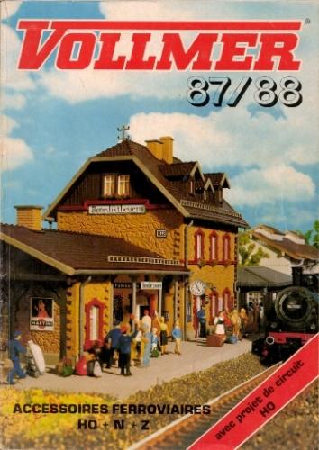 Catalogue VOLLMER 1987-1988