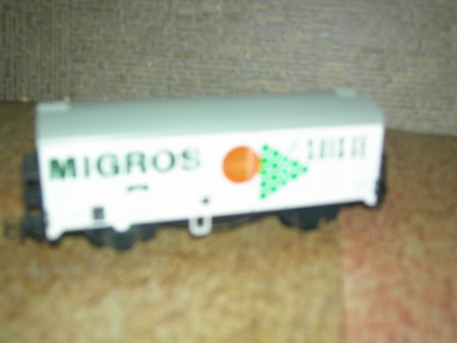 LILIPUT Wagon couvert Migros SBB CFF
