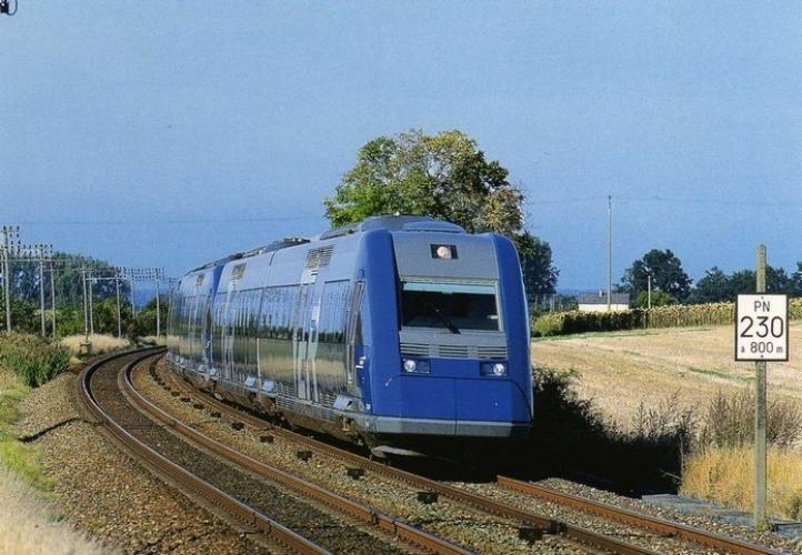 CMFM 060 - Autorails X 72500 vers MAYET - 72 - SNCF