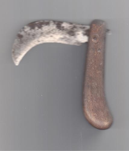 ANCIEN COUTEAU SERPETTE