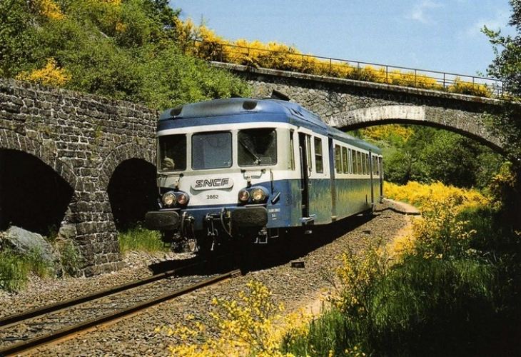 RU 0337 - Autorail X 2862 vers SAINT-SULPICE - 63 - SNCF