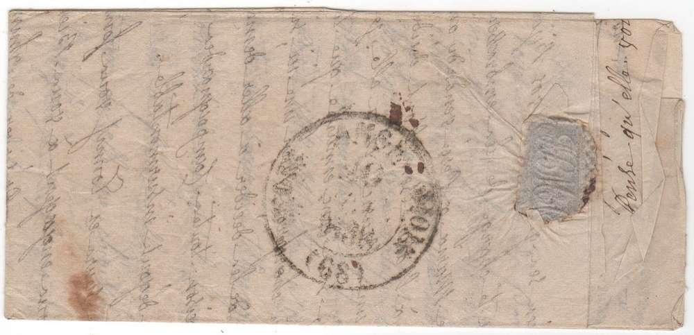 LYON (68) T14B 19/2/1838 + ID pour POMMIERES scan verso
