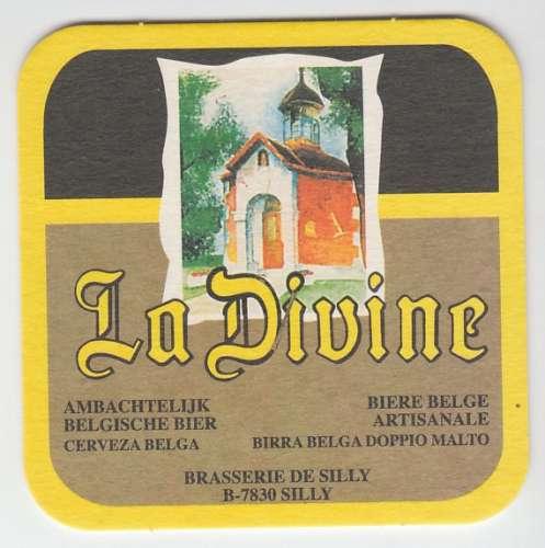 SOUS-BOCK LA DIVINE - BRASSERIE DE SILLY