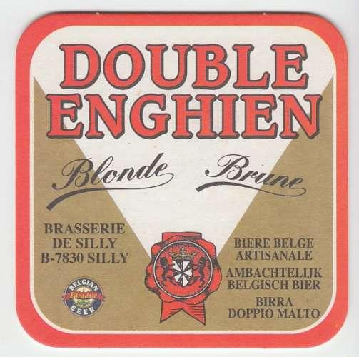 SOUS-BOCK DOUBLE ENGHIEN BLONDE BRUNE