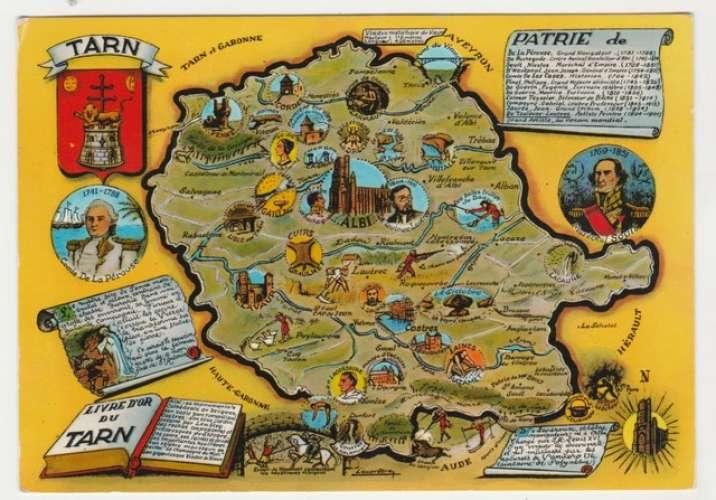 Cp  Plan départemental du Tarn 81  Blason