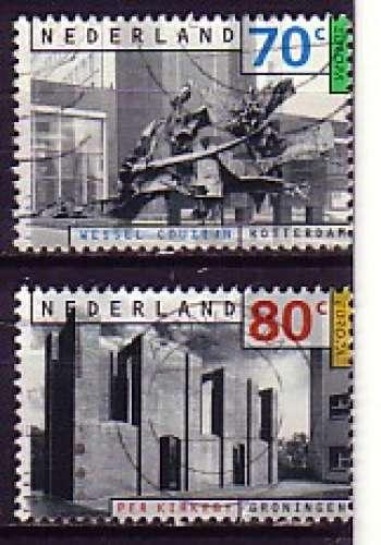Pays-Bas 1993  Y&T  1445 + 1446  oblitérés