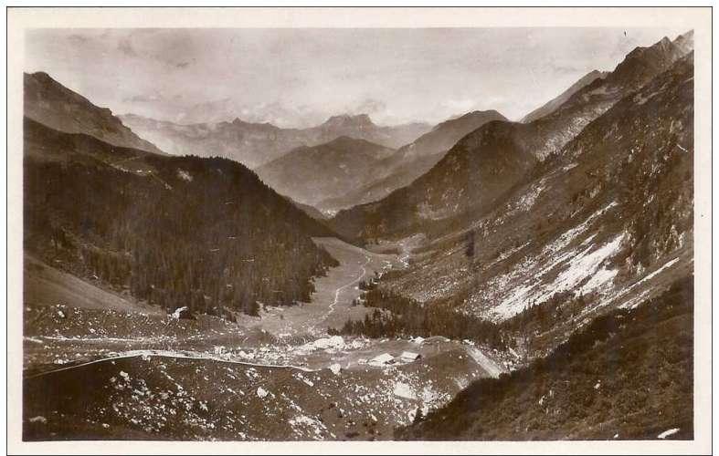 Cpa 74 Saint Gervais les bains , massif du mont blanc -vallon des contamines .. , vierge