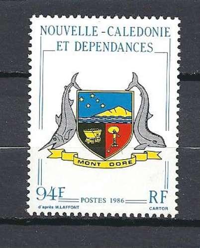 Nouvelle Calédonie  Y & T  573**    Armoiries de Koumac