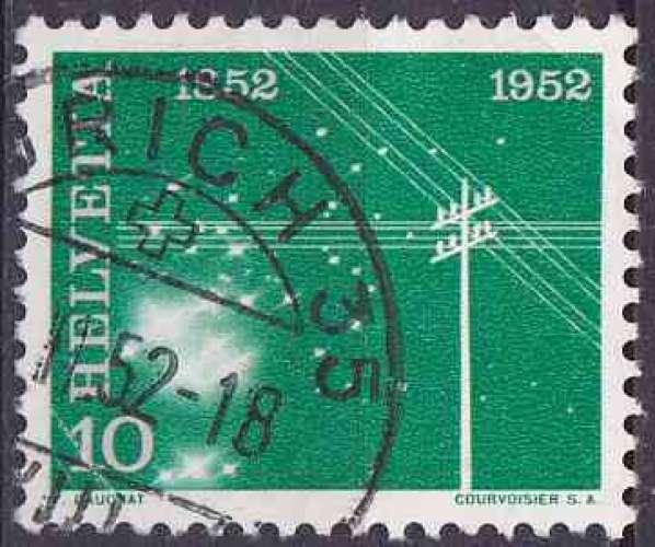 Suisse 1952 oblitéré n° 518