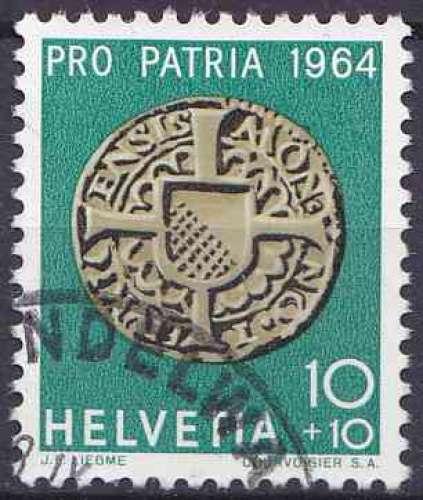 Suisse 1964 oblitéré n° 731