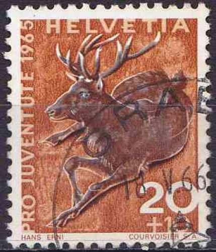 Suisse 1965 oblitéré n° 761