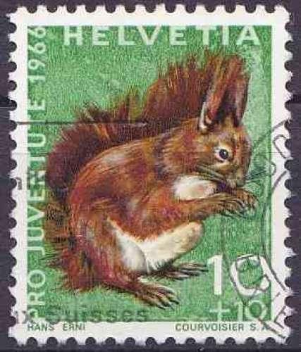 Suisse 1966 oblitéré n° 779