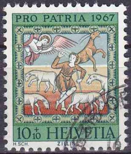 Suisse 1967 oblitéré n° 787