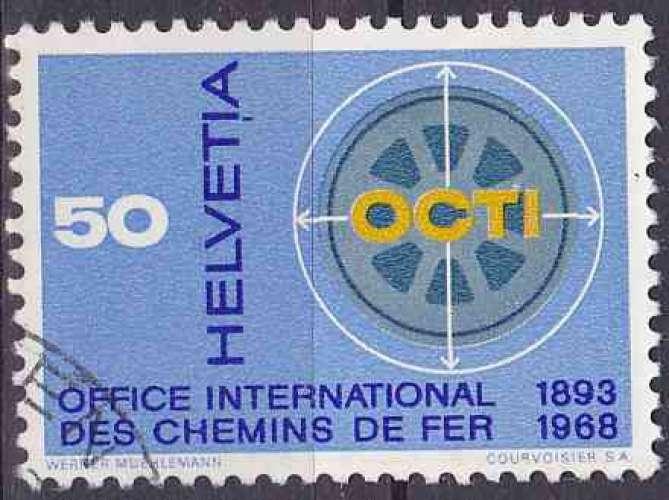 Suisse 1967 oblitéré n° 794