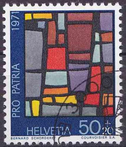 Suisse 1971 oblitéré n° 881